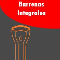 Material de perforación Barrenas integrales